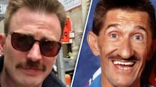 Chris Evans has a new look and now he's an unofficial Chuckle Brother