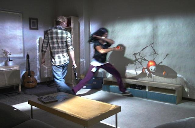 Microsoft's RoomAlive turns your den into a video game level