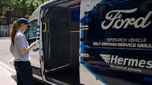 Ford and Hermes trial self-driving delivery vans in the UK