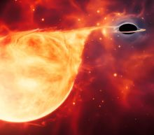 Hungry black hole may be cosmic 'missing link'