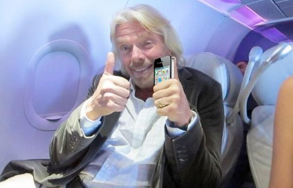 Virgin Mobile to carry iPhone from today, Sir Richard does his best Fonz impression