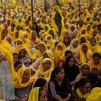 Women turn out in huge numbers to support India's farmer protests on International Women's Day
