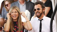 Exes Jennifer Aniston And Justin Theroux Enjoy Friendsgiving Together
