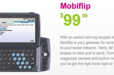 Sharp Mobiflip channels Sidekick LX's vibes for Mobilicity