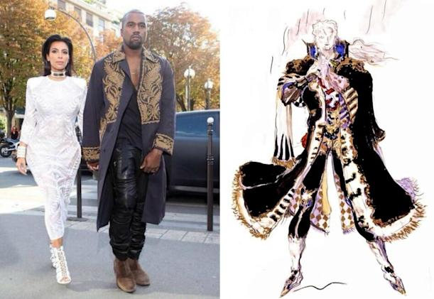 Seven times Kanye West dressed like a 'Final Fantasy' character