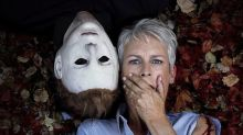 Jamie Lee Curtis teases fans as cameras roll on sequel 'Halloween Kills'