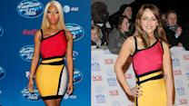 Different Celeb Same Dress