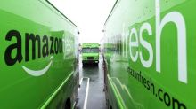 DHL stops deliveries for Amazon Fresh in Germany