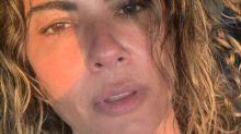 Luciana Gimenez surpreende e divide opiniões ao aparecer sem maquiagem na web