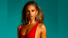 Alesha Dixon celebrates 40th birthday with swimwear shoot