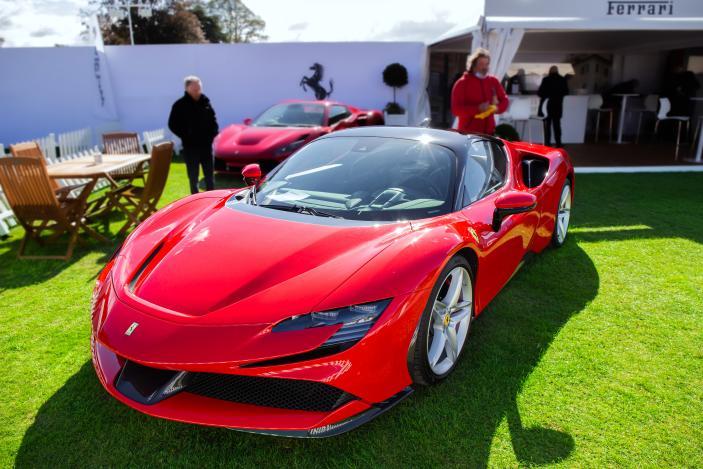 Ferrari's CEO promises an EV in 2025