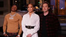 Jennifer Lopez Falls For Pete Davidson, Breaks Alex Rodriguez's Heart in Hilarious 'SNL' Sketch