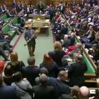 Brexit: Labour MP suspended from Commons for stealing ceremonial mace in protest at vote delay