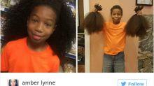Este niño de 8 años, ¡ha donado su melena afro a los enfermos de cáncer!