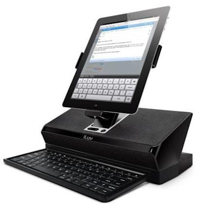 iLuv unveils WorkStation docks, turns your iPad 2 / Galaxy Tab into a PC, sort of