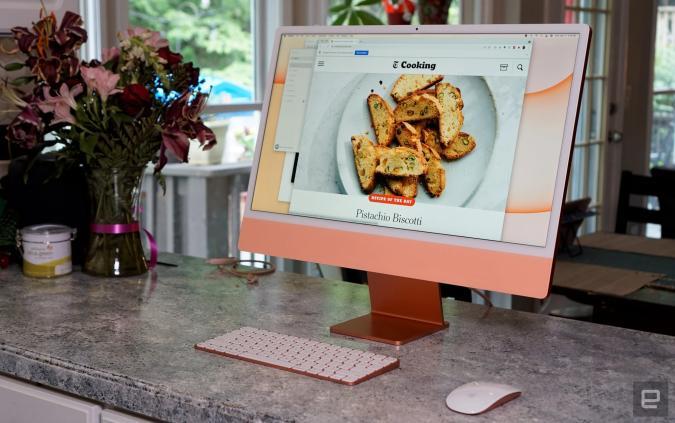 Image of Apple's iMac M1