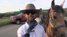 Brazilian cowboy finishes journey from Alaska to Calgary