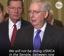 'Total nonsense': Democrats rip McConnell on delaying USMCA vote until after impeachment trial