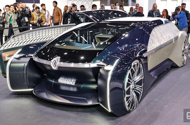 Renault's EZ-ULTIMO is a self-driving luxury lounge