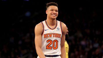 Knicks rookie thriving in the New York spotlight