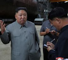Kim Jong-un inspects new submarine as North Korea sends message to US