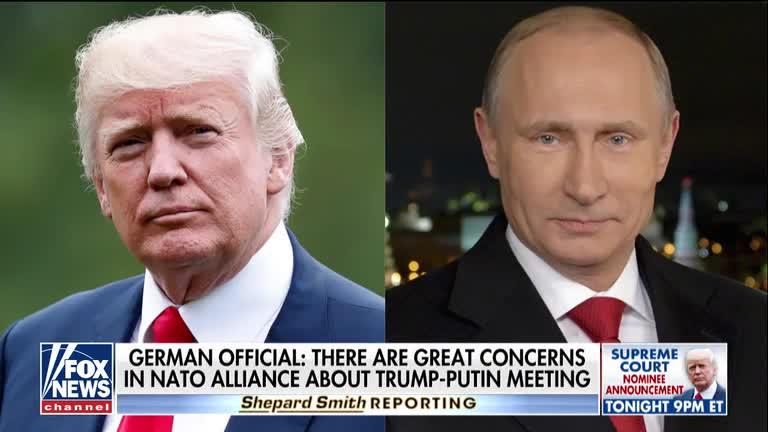 European officials express concern over Trump-Putin summit