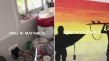 'Only in Australia': Woman's horrific find under painting shocks TikTok