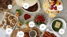 How to do a luxury Christmas lunch spread for just $100