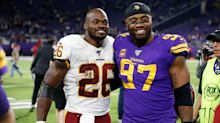 'Funny how things work out': Pals Adrian Peterson, Everson Griffen reunited in Detroit