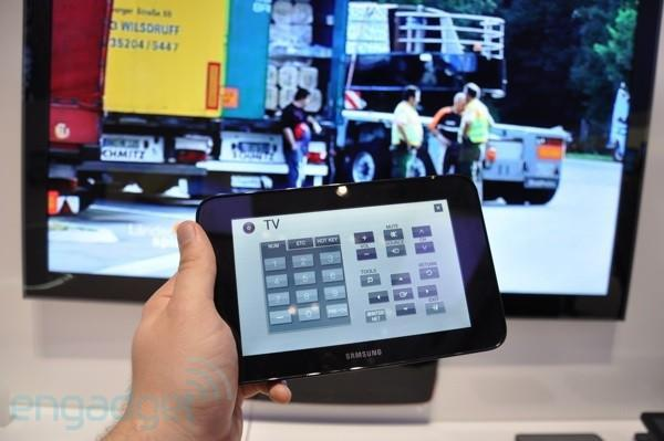Samsung's LED TV Couple packs a 7-inch tablet remote for streaming TV and so much more
