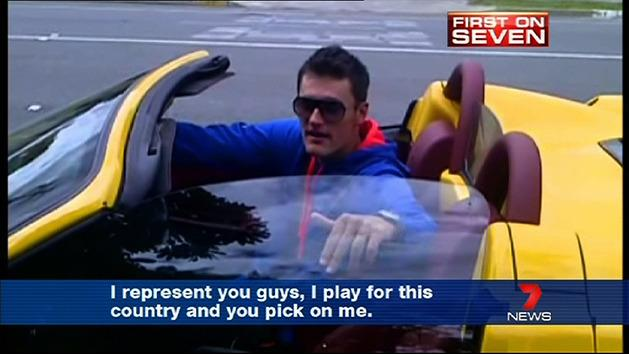 Tomic loses his cool at reporter