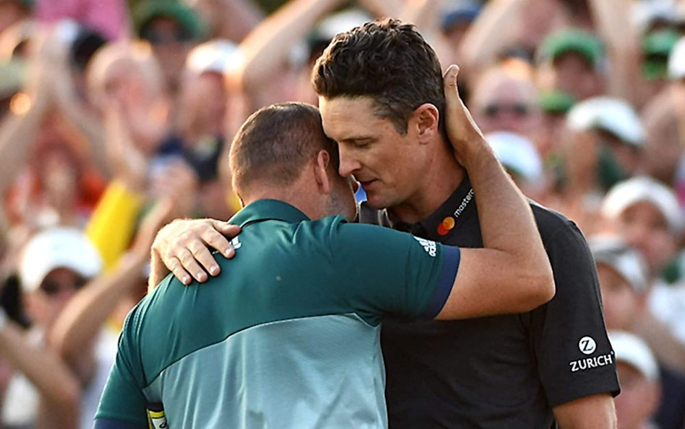 Rose was delighted for Garcia despite missing out on a second Major  - USA/REX/Shutterstock