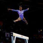 U.S. gymnast Simone Biles joins Gap's Athleta, ends Nike deal