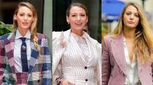Blake Lively Can't Stop Wearing Pantsuits -- See All of Her Dapper Looks!