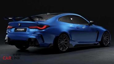 「變寬」就「變美」!BMW G8X M4寬體套件首見