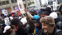 Protesters March Against Police Brutality in Chicago