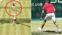 'Can't do that': Tennis fans in disbelief at Daniil Medvedev meltdown