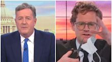Piers Morgan condemns talkRADIO host Mark Dolan for cutting up face mask: 'People may die because he did that'