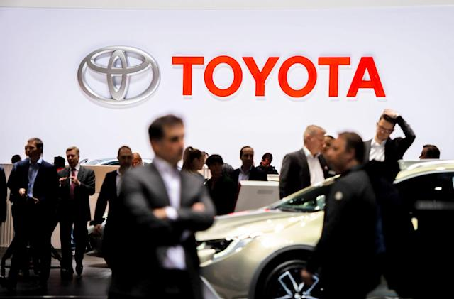 Toyota forms a joint venture to make its own self-driving car chips