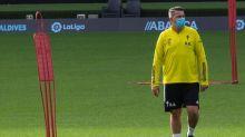 """García cree que """"el principal cambio"""" del Barça de Koeman es a nivel táctico"""