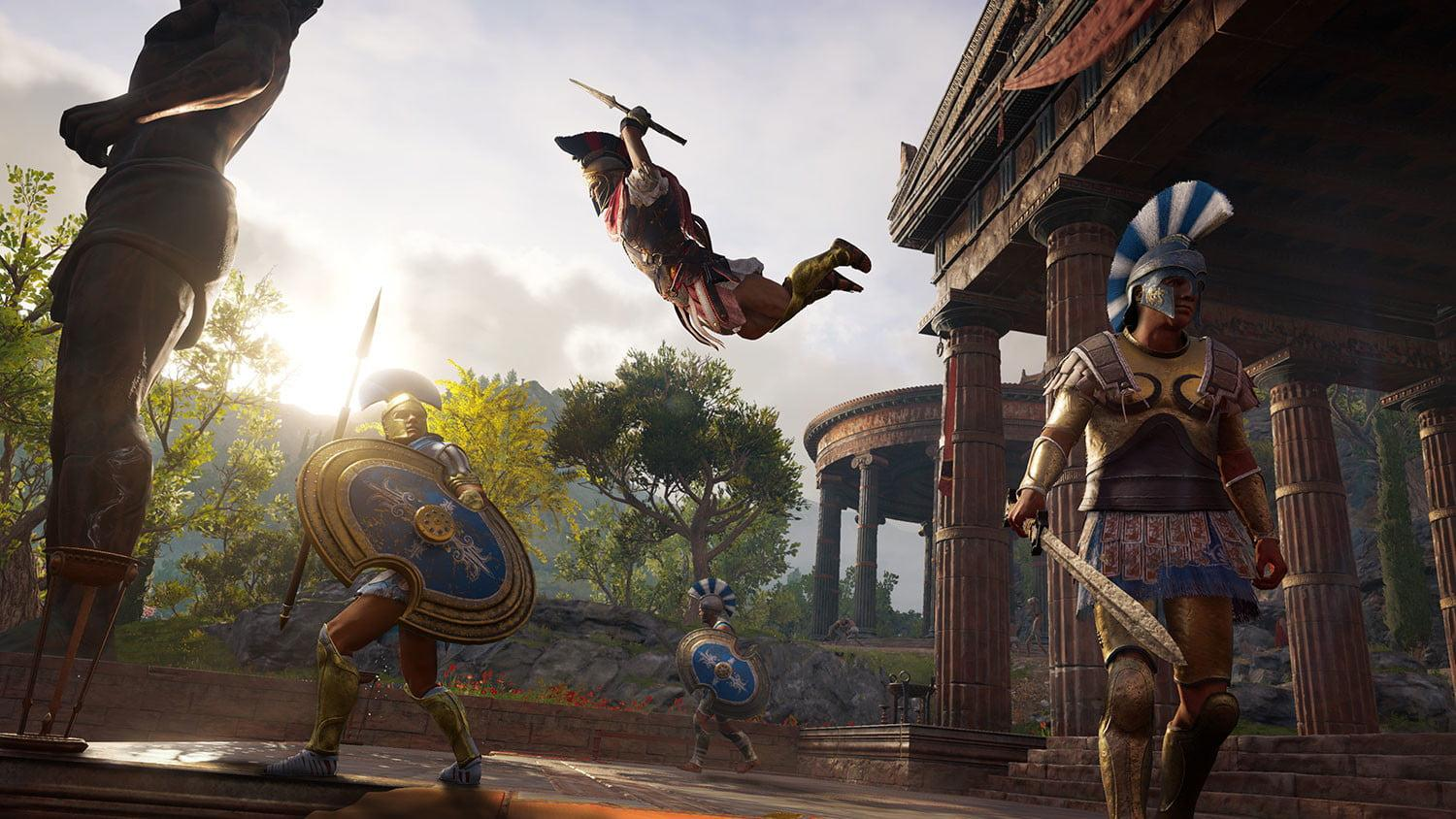 Assassins Creed Odyssey Boasts Two Main Characters Ship To Ship
