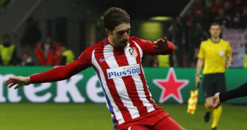 Foot - ESP - Atlético - Sime Vrsaljko de retour à l'entraînement de l'Atlético de Madrid
