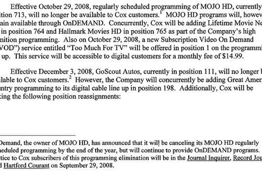 MOJO HD gets canceled, should vanish by year's end