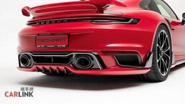 「用爽」比「看爽」還重要!Techart發表Porsche 992 Turbo S「風洞實測」空力套件