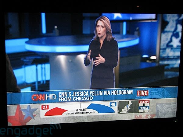 CNN's holographic freakout begins, seems totally bizarre and unnecessary