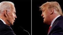 TV-Duell Donald Trump gegen Joe Biden: Donald Trumps letzter Versuch
