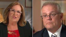 Tracy Grimshaw grills PM Scott Morrison in explosive interview