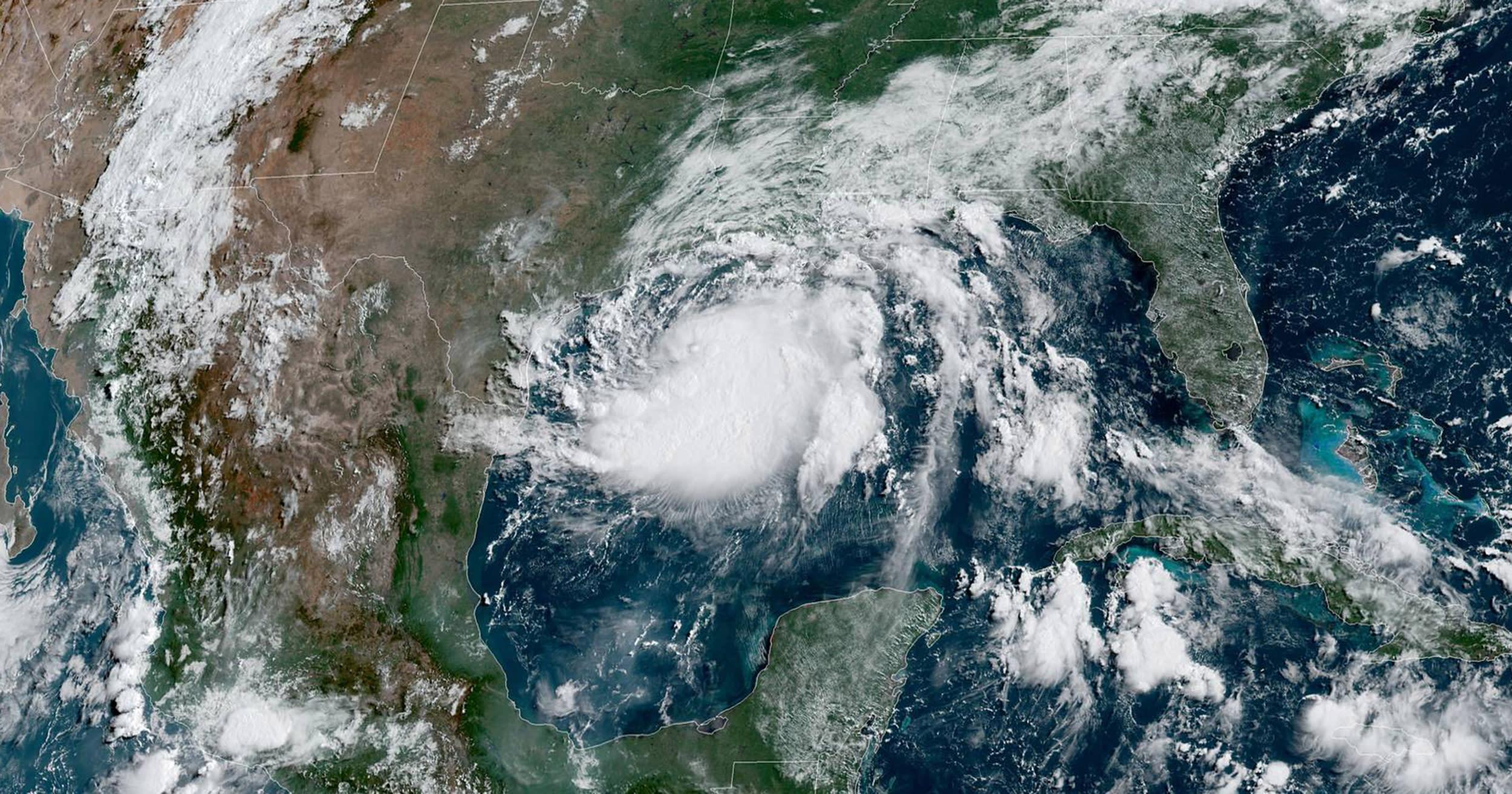 Map: Track Tropical Storm Hanna