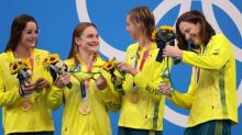 Olympics-Swimming-Aussies' dive into 'data lake' brings success in Tokyo pool