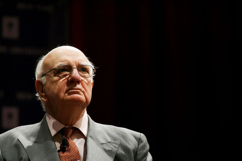 Former US Fed Chairman Paul Volcker dies at 92